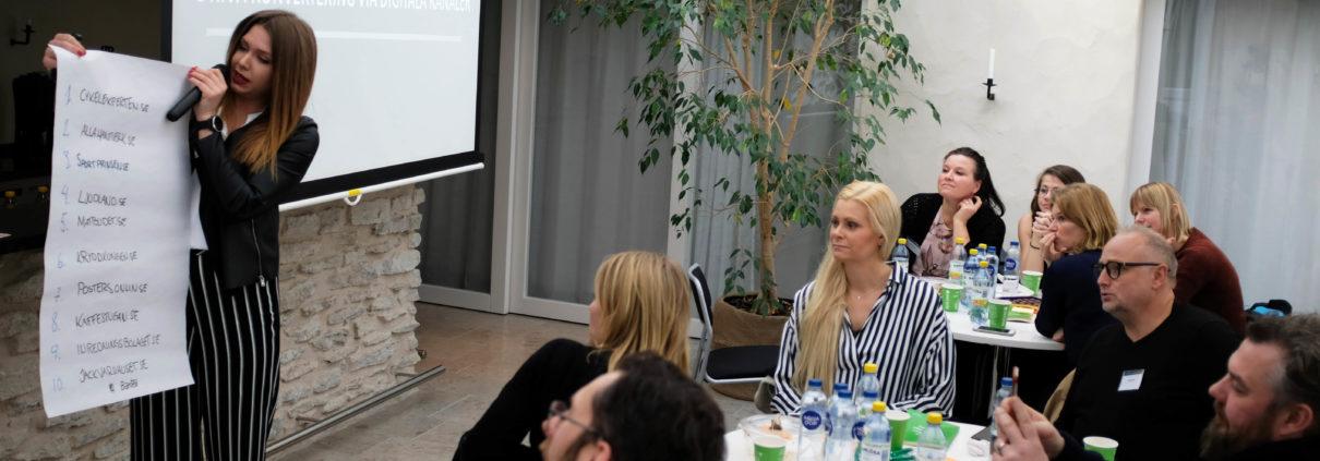 E-handelsträff med Sara Öhman på Science Park Gotland