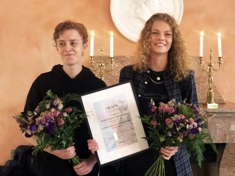 Animatching vinner SKAPA priset på Gotland