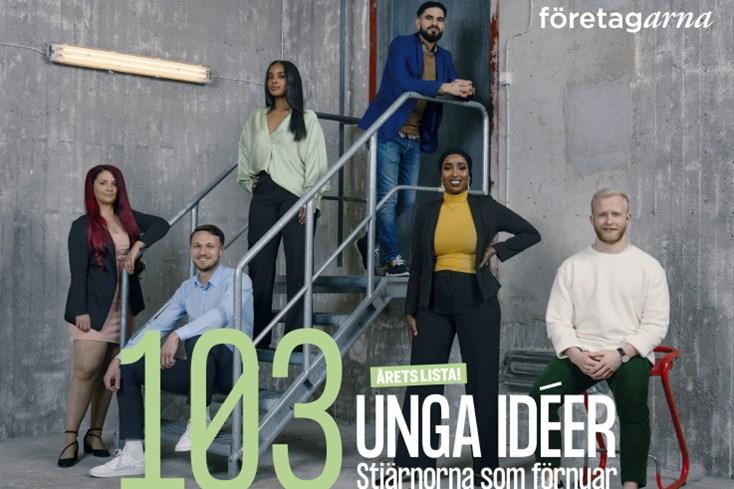 Vattn en av 103 unga idéer 2021