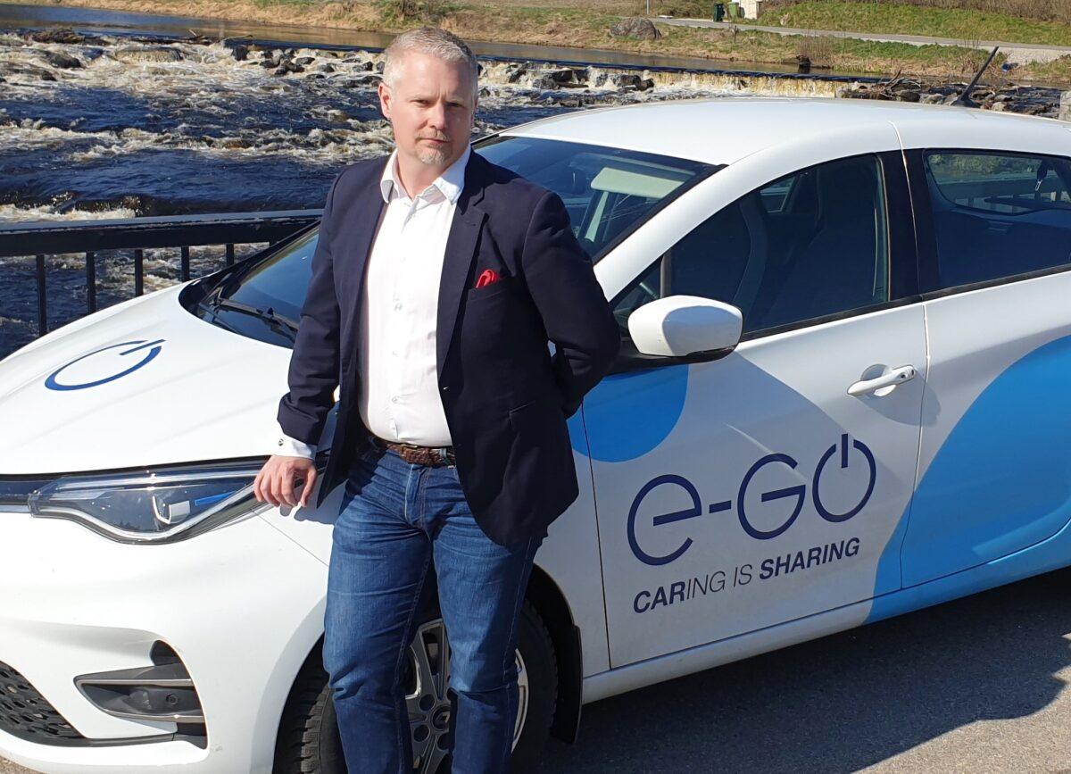Johan Granath, VD och grundare på E-go